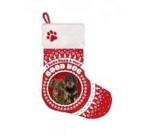 Kerstsok Hond Teckel