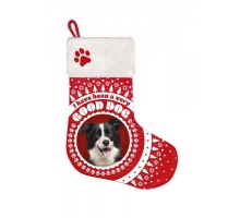 Kerst Stocking Border Collie