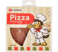Flamingo Pizza Kip Rund