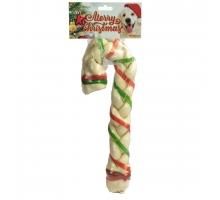 K9 Santa's Gevlochten Candy Cane