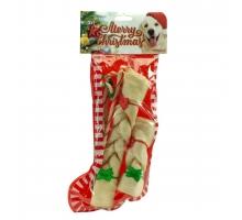 K9 Santa's Kerstsok Candy Cane