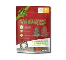 Whimzees Christmas Stix M