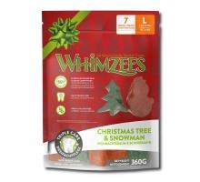 Whimzees Christmas Stix L