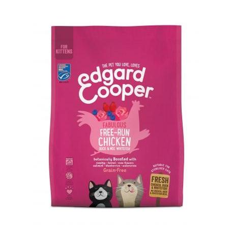Edgard & Cooper Kittenvoer Kip, Eend, Witvis 300g
