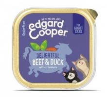 Edgard & Cooper Adult Kat Rund & Eend Kuipje 85g