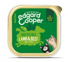 Edgard & Cooper Adult Kat Rund & lam Kuipje 85g