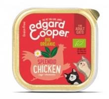 Edgard & Cooper Adult Kat Kip Biologisch Kuipje 85g