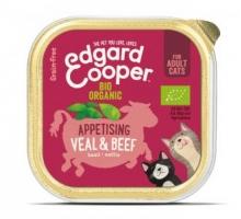 Edgard & Cooper Adult Kat Rund & Kalf Biologisch 85 g