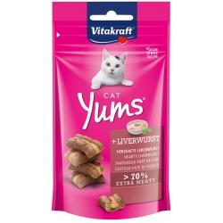 Vitakraft Cat Yums Leverworst - kattensnoepjes