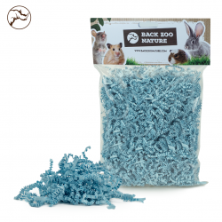 Back Zoo Nature Rodent Crinkle Paper Baby Blue 100 gram