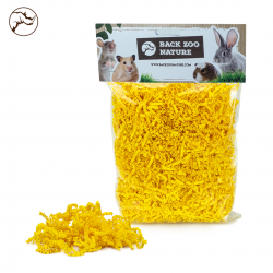 Back Zoo Nature Rodent Crinkle Paper Yellow 100 gram