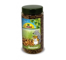 JR Farm Meelwormen 70g