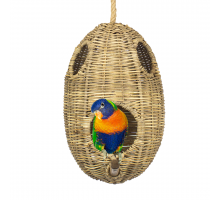Rotan Birdhouse Oval Medium
