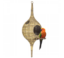 Rotan Birdhouse Long Large