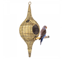 Rotan Birdhouse Long Medium