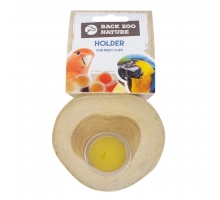 Back Zoo Nature Fruit Cups Holder Teak