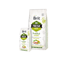 Brit Fresh Duck with Millet Active Run & Work 2,5kg