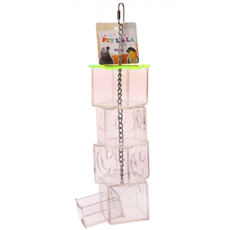Petlala Acrylic Foraging Tower Large
