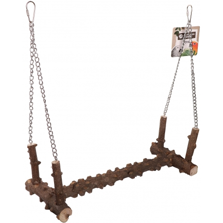 Back Zoo Nature Pepper Wood Swing Stand XL