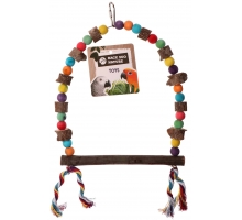 Back Zoo Nature Pepper Wood Colour Swing