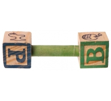 Back Zoo Nature ABC Wood Barbell