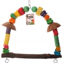 Back Zoo Nature Parrot Coconut Swing XL