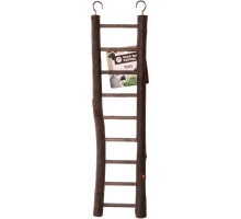 Back Zoo Nature Wooden Ladder 9 steps 38 cm
