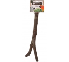 Back Zoo Nature Wooden Y-Perch 30 cm