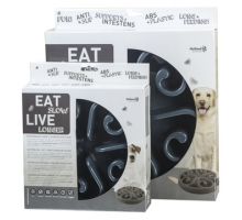 Eat Slow Live Longer Round Feeder Griijs Small