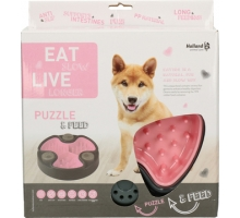 Eat Slow Live Longer Puzzle & Feed Roze