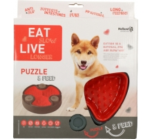 Eat Slow Live Longer Puzzle & Feed Rood
