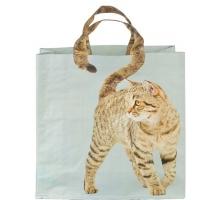 Avontuurlijke BIG Shopper Bruine Kat