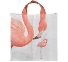 Avontuurlijke BIG Shopper Shopper flamingo