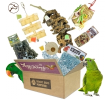 """Back Zoo Nature """"Hope for Wings"""" Parrot Box"""