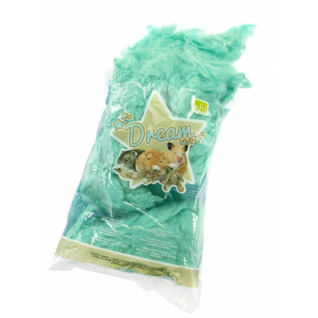 Hamster cotton -DREAM-NEST- 100g, fully-digestible
