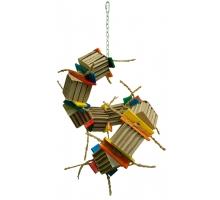 Zoo-Max Bongo Cardboard Twister Large