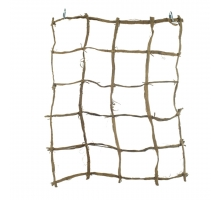 Back Zoo Nature Browny Kokos Net 40x50 cm