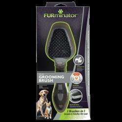 FURminator Dual Brush Hond & Kat