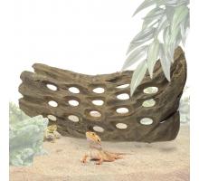 Back Zoo Nature Holes Wood Large