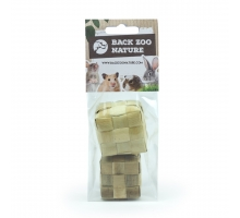 Back Zoo Nature Rodent Woven Cubes - Pack of 2