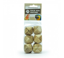 Back Zoo Nature Pandan Cubes - Pack of 6