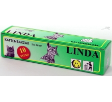 Linda Kattenbakzak 51 cm 10 stuks