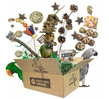 "Back Zoo Nature ""World of Birds"" Box"