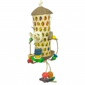 Back Zoo Nature Coco Foraging Tower