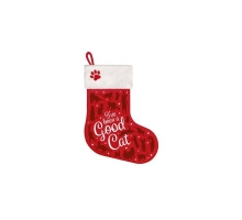 Kerst Stocking Good Cat