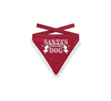 Kerst Bandana Favourite Dog L