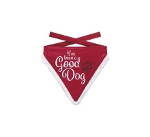 Kerst Bandana Good Dog L