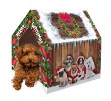 Merry Pets Kerst Huis Hond