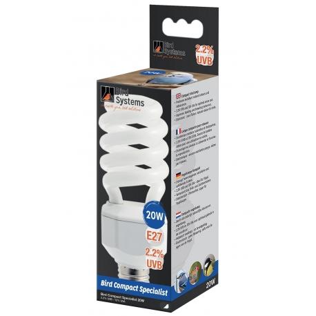 Bird Systems Compact Lamp Specialist (UV-A en UV-B) 20W