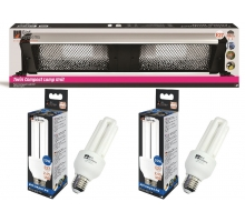 Bird Systems Compact TWIN Lamp Unit + 2 Lampen!